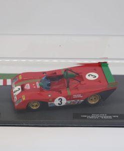 Altaya 143 Ferrari 312 P 1000km Spa Francorchamps 1972 A. Merzario scaled
