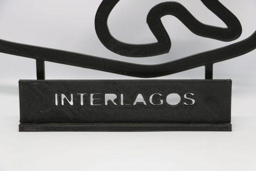 F1 Race track INTERLAGOS Brasil GP 24x20cm 1 scaled