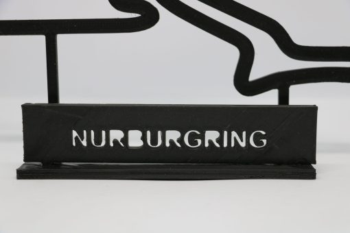 F1 Race track NURBURGRING GP Germania 23x14cm 4 scaled