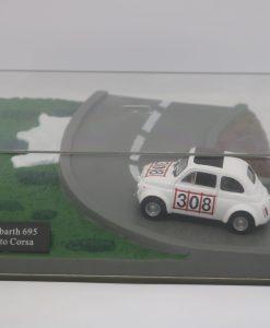 Hachette 143 Fiat Abarth 695 Assetto Corsa DIORAMA 1 scaled