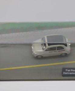 Hachette 143 Fiat Nuova 500 Derivazione Abarth DIORAMA 1 scaled