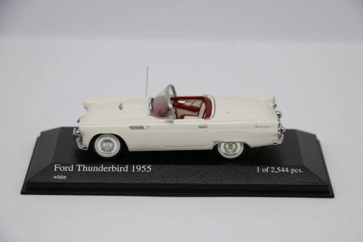 Minichamps 143 Ford Thunderbird 1955 white 1 scaled