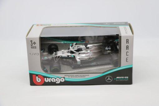 Bburago 143 Mercedes F1 W10 Lewis Hamilton 44 Die Cast 1 scaled