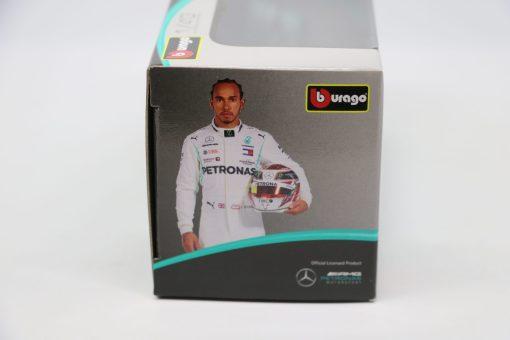 Bburago 143 Mercedes F1 W10 Lewis Hamilton 44 Die Cast 2 scaled