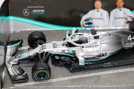 Bburago 143 Mercedes F1 W10 Lewis Hamilton 44 Die Cast 3 scaled