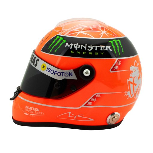 Michael Schumacher Helmet GP Formula 1 2012 12