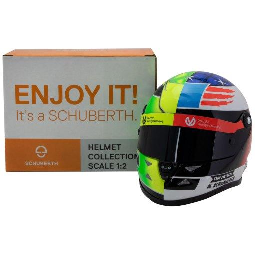 Mick Schumacher miniature helmet Belgium Spa 2017 scala 12 5