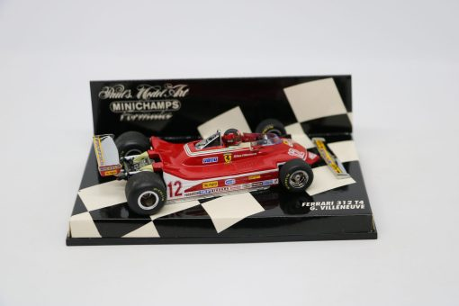 Minichamps 143 Ferrari 312 T4 G. Villeneuve 2 scaled