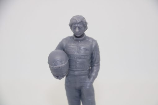Statuetta Ayrton resin 10cm 1 scaled