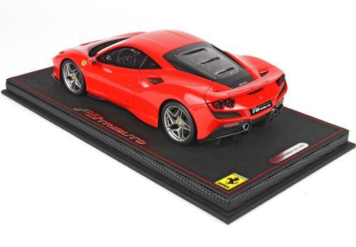 BBR 118 Ferrari F8 Tribute Geneve 2019 Rosso Scuderia RETRO