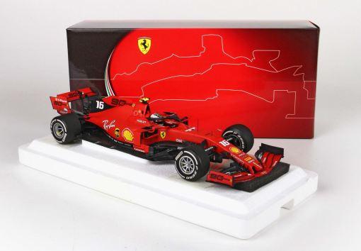 BBR 118 Ferrari SF90 GP Italy Monza 2019 Leclerc