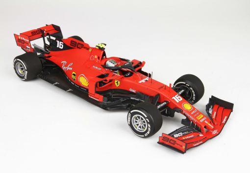 BBR 118 fronte Ferrari SF90 GP Italy Monza 2019 Leclerc