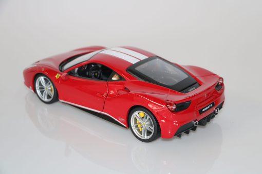Bburago 118 Ferrari 488 GTB 70th anniversary Collection 5 scaled