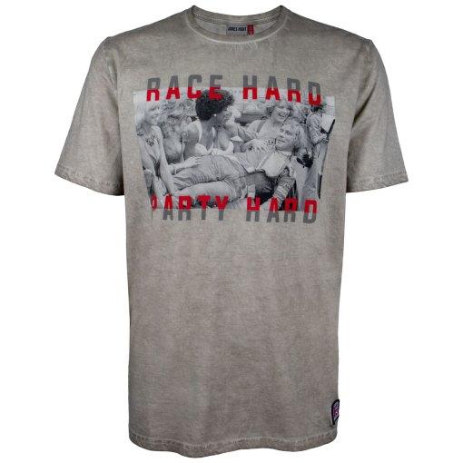 T Shirt Race Hard Party Hard James Hunt