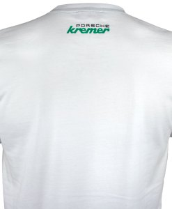 T shirt Porsche Kremer Racing Carrera N. 9 Bianca retro