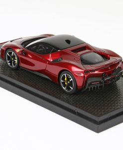 BBR 143 Ferrari SF90 Stradale Rosso Met RETRO