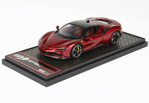 BBR 143 Ferrari SF90 Stradale Rosso Met