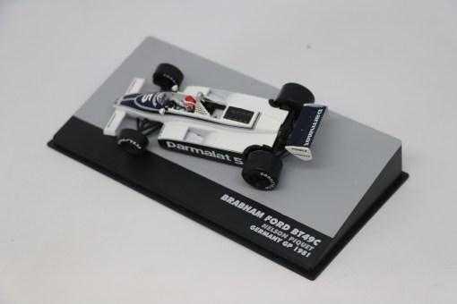 Altaya 143 Brabham Ford BT49C Nelson Piwuet 1981 N.5 Germany GP 2