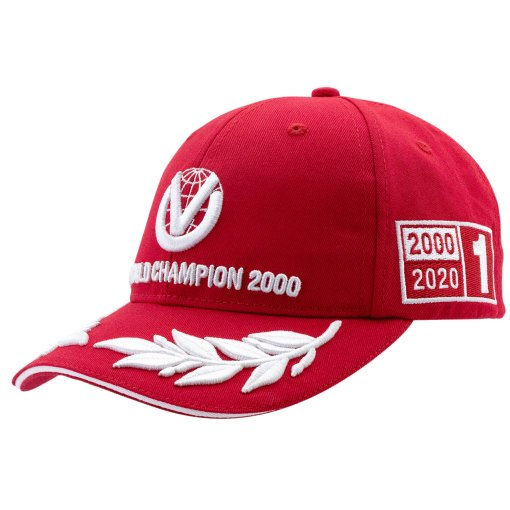 Cappellino Michael Schumacher World Champion 2000 Limited Edition
