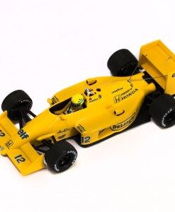 Minichamps 143 Ayrton Senna F1 Lotus Honda 99T Japan GP 1987 posteriore
