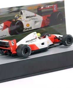 Modellino Altaya 1 43 McLaren MP47 Ayrton Senna Germany GP 1992 1