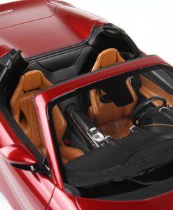 BBR 1 43 Ferrari 812 GTS Rosso Fiorano With Gold Stripe INTERNI