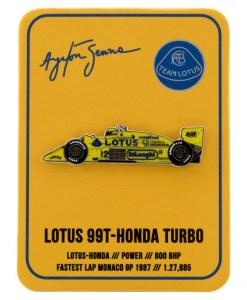 Spilla Ayrton Senna Monaco 1st Victory 1987