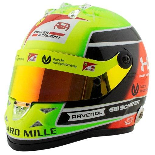 Mini Helmet 12 Mick Schumacher 2020 Driver accademy