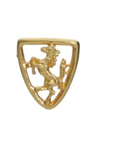 Spilla cavallino oro giallo 2