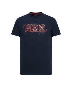 T shirt Max Verstappen blu Casual