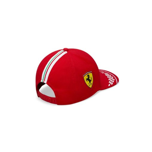 Cappellino Charles Leclerc 16 Scuderia Ferrari Puma F1 Replica Team 2020 Adulto Unisex logo
