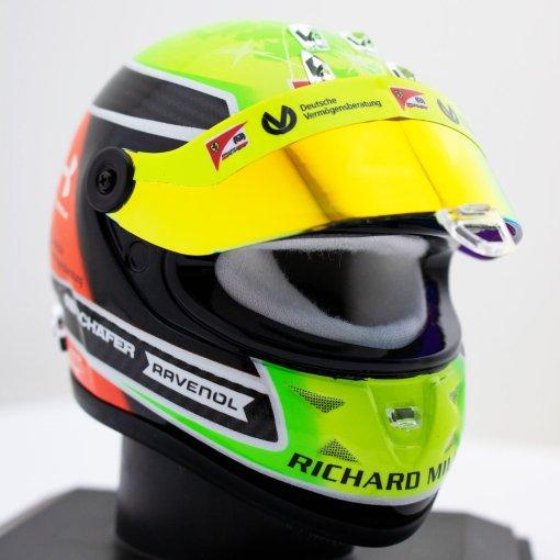 Mick Schumacher miniature helmet 2020 14 casco