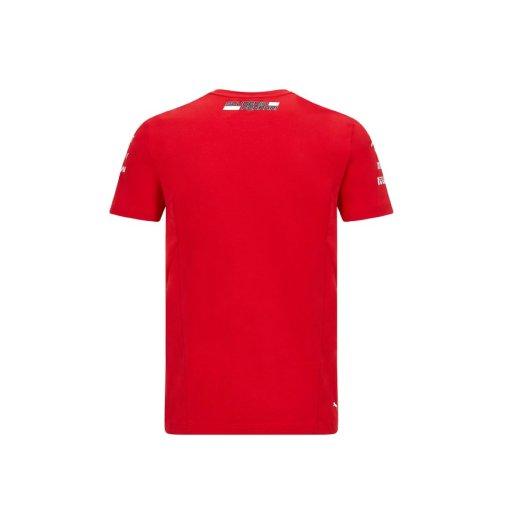 T shirt Team Ferrari F1 202021 Uomo retro