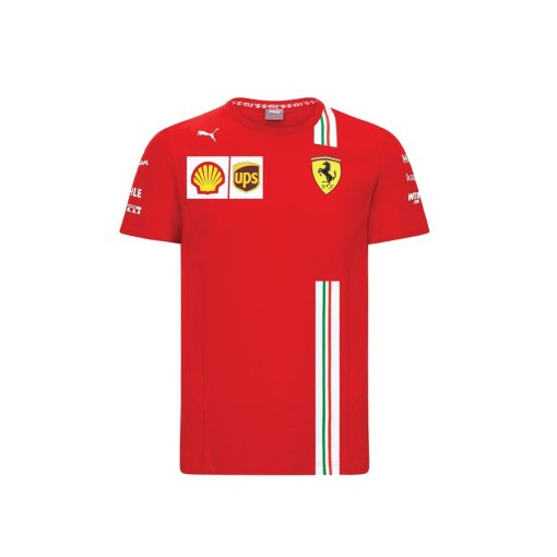 T shirt Team Ferrari F1 202021 Uomo