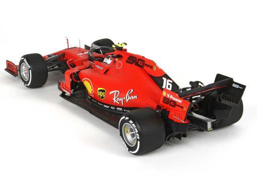 Modellino F1 Bbr Models 118 Ferrari SF90 C. Leclerc Australian GP 2019 retro