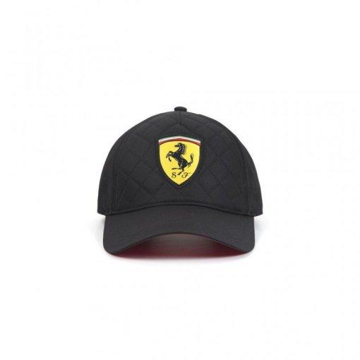 Cappellino Ferrari sportivo nero