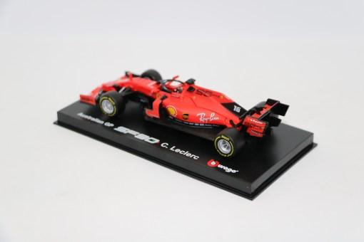 Bburago Signature Ferrari Charles Leclerc F1 SF90 Die cast 143 2019 6