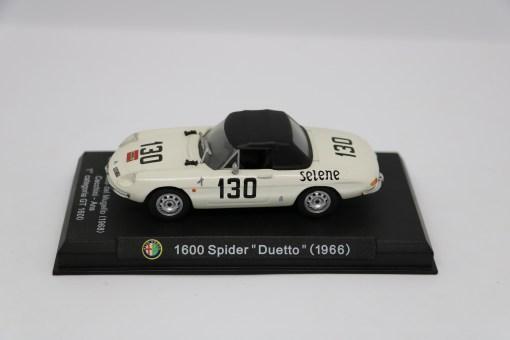 Alfa Romeo 143 1600 Spider Duetto 1966 Gran Premio del Mugello