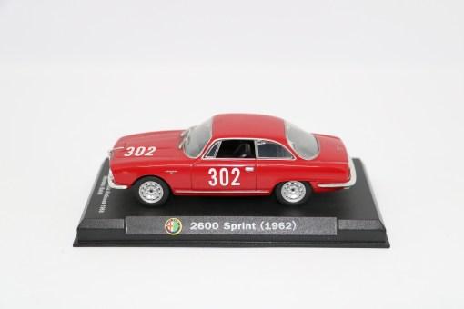 Alfa Romeo 143 2600 Sprint 1962 Bologna Passo della Raticosa 1968
