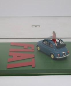 Hachette 143 Fiat Nuova 500 Eco DIORAMA 1