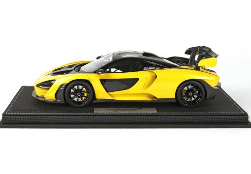 118 BBR McLaren Senna 2018 Volcano Yellow P18149H1 3