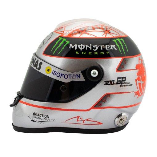 12 Michael Schumacher Helmet 300 gp Spa 3