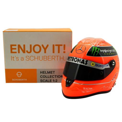 Michael Schumacher Final Helmet GP Formula 1 2012 12 5