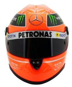 Michael Schumacher Helmet GP Formula 1 2012 12 1