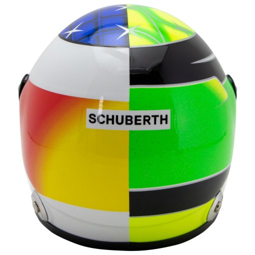 Mick Schumacher miniature helmet Belgium Spa 2017 scala 12 6