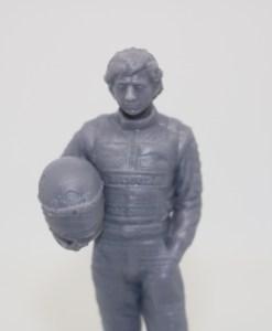 Statuetta Ayrton resin 10cm 1