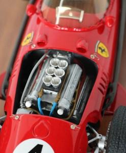 112 MG Models Ferrari Dino 246 F1 World Champion 1958 naked
