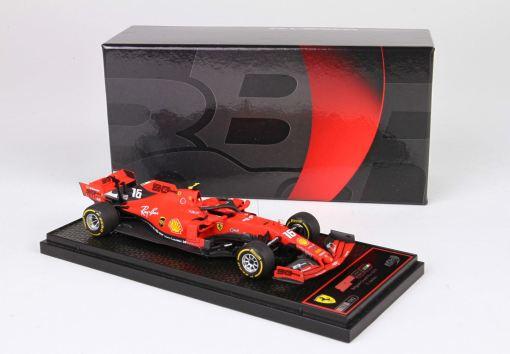 BBR 143 Ferrari SF90 Belgium GP 2019 Winner C. Leclerc 3