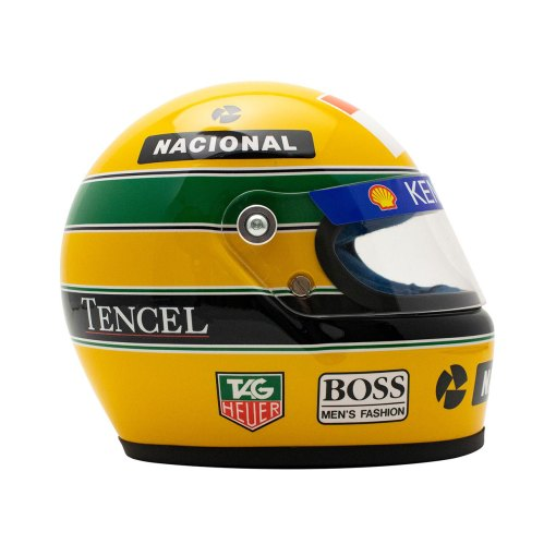 Mini Helmet scala 12 Ayrton Senna 1993 2