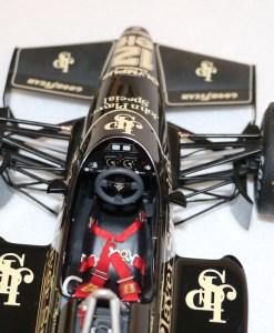Modellino artigianale 112 F1 Lotus 97T 1985 Ayrton Senna N.12 6